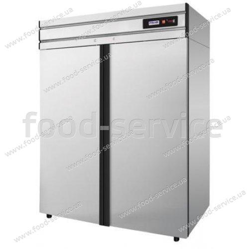 Шкаф холодильный Polair CM114-G (ШХ-1.4) (нерж)
