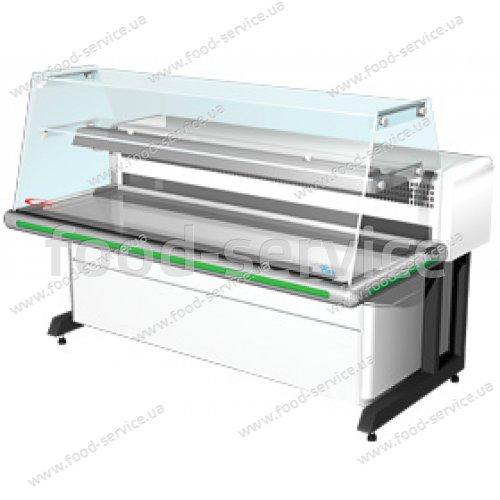 Холодильная витрина настольная Bari-1,2 ВС