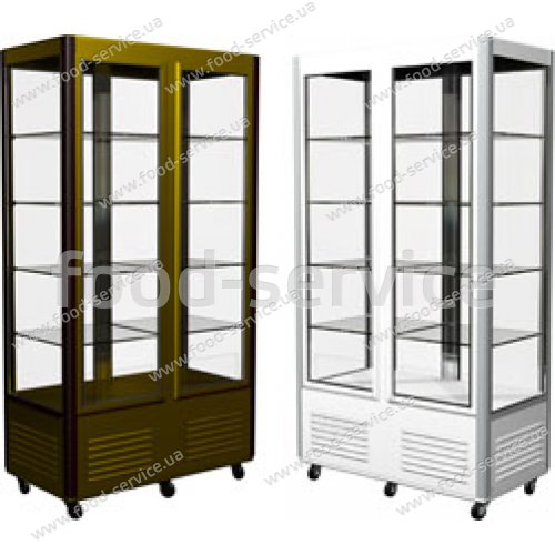 Витрина кондитерская холодильная Сarboma R800C Люкс