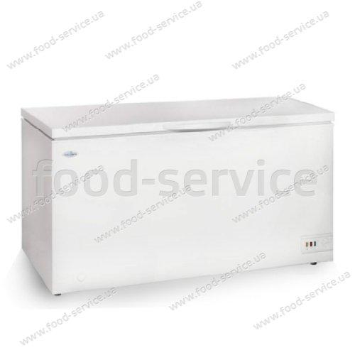 Ларь морозильный с глухой крышкой SCAN SB 551