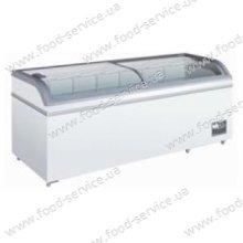 Ларь морозильный с стеклянной крышкой SCAN XS 800