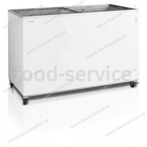 Морозильный ларь со стеклянной крышкой Tefcold IC400SC