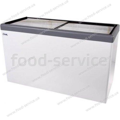 Морозильный ларь с прямым стеклом СНЕЖ МЛП-500 (Россия-Италия)