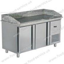 Стол для пиццы холодильный с гранитной столешней SBN 140P, Inoks