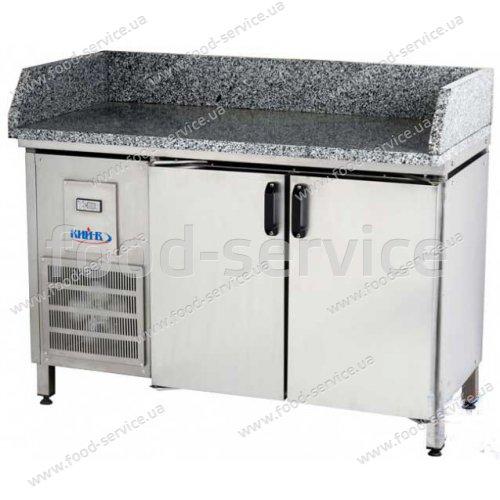 Стол для пиццы с гранитной столешней СХ-МБ 1,5х0,7м