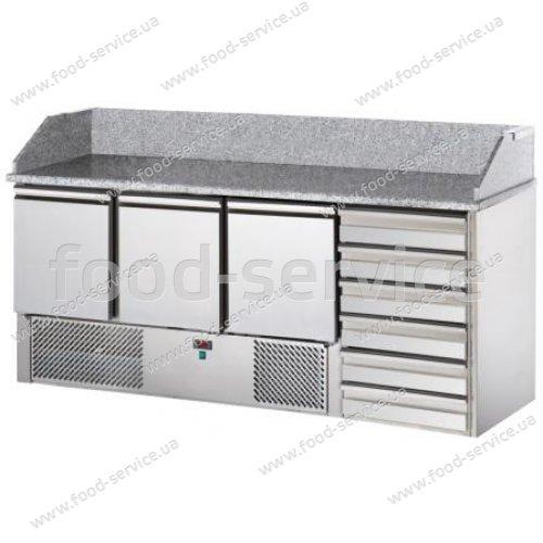 Стол для пиццы с гранитной столешницей  DGD SL03C6, DGD Refriger