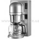 Кофеварка заливного типа KitchenAid 5KCM0802ECU серебристая