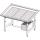Стол для выкладки рыбы с охлаждением Инокс-маркет 1400, Техно 1