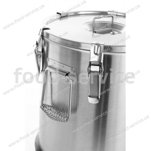 Термоконтейнер для транспортировки первых блюд Hendi 710111 на 15л