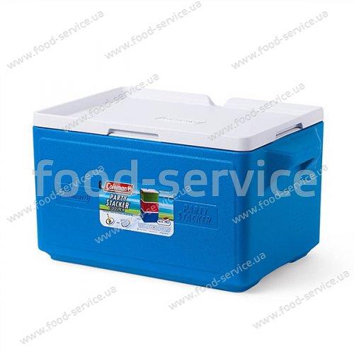 Термобокс  для транспортировки напитков COOLER 48 CAN STACKER - BLUE