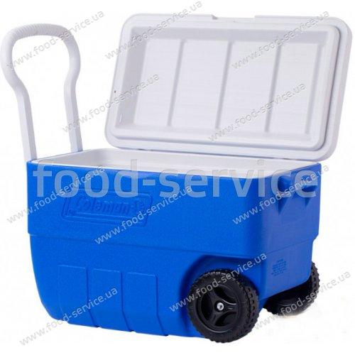 Термобокс  для транспортировки напитков COOLER 50QT WHLD BLUE LOW PRO