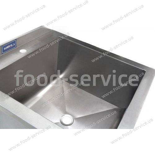 Ванна моечная 1-секционная нержавейка 600х600х850мм
