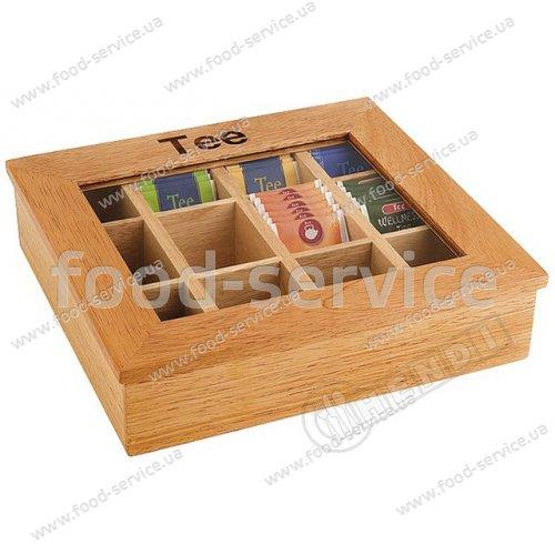 Коробка для чая Hendi 456514 размером 300x280x90мм