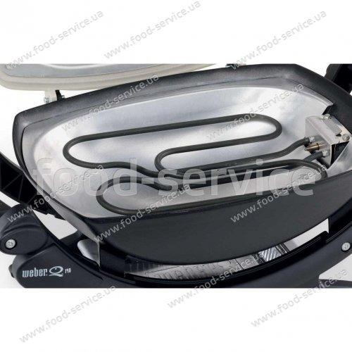 Электрический гриль Weber Q140 темно-серый