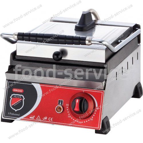 Контактный гриль-тостер (прижимной) Silver 2129