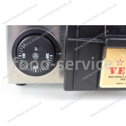 Гриль контактный VEMA PV2063/2 ребристый (стеклокерамика)