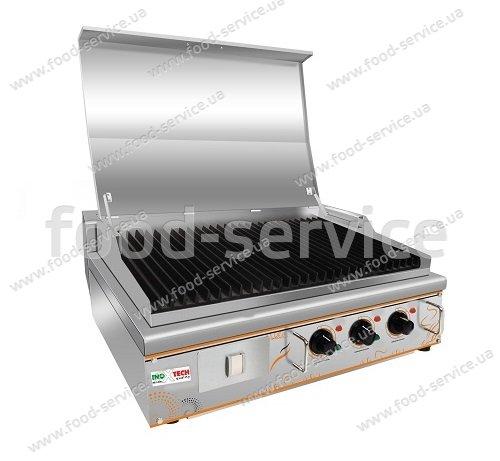 Гриль электрический лавовый Inoxtech LRG 826