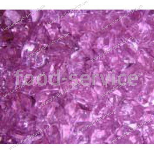 Огнеупорные стеклышки Пурпурные прозрачные