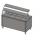 Прилавок холодильный с гнутым стеклом, 2 полки, 5хGN 1/1  Инокс-маркет, Техно 1