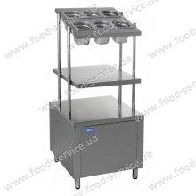 Прилавок для столовых приборов и подносов ПСП-600