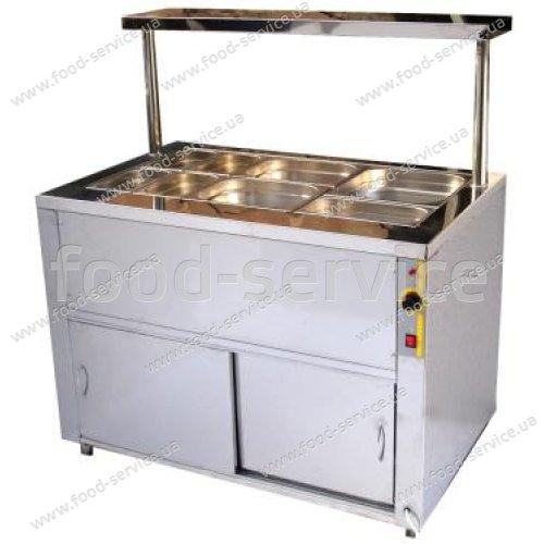 Прилавок холодильный на 10 гастроемкостей ПХ-1135