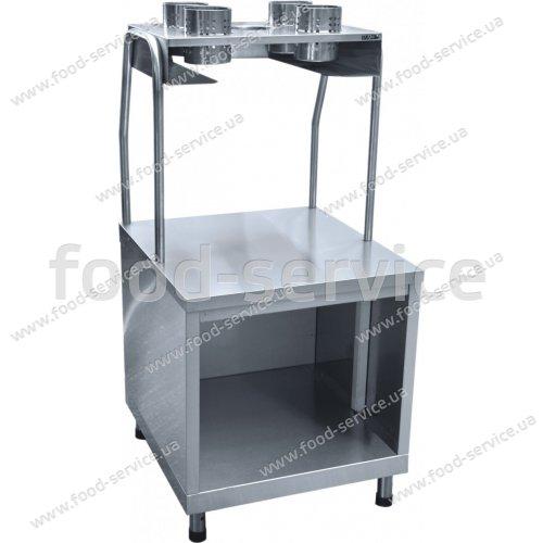 Прилавок для столовых приборов ПСП-70КМ линия АСТА