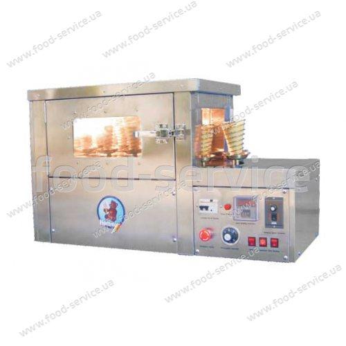 Конвейерная печь для выпечки конопиццы