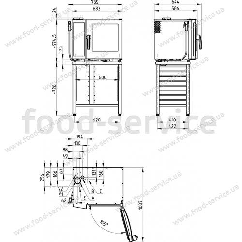 Пароконвектомат Retigo B 623i