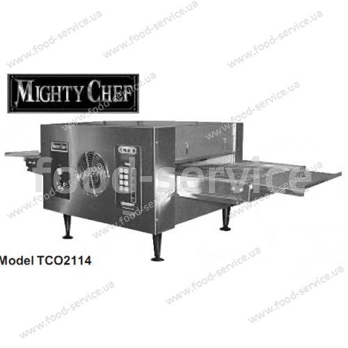 Электрическая конвейерная печь для пиццы TCO-2114 Mighty Chef