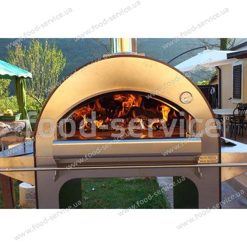 Печь для пиццы на дровах Alfa pizza 4 Pizze
