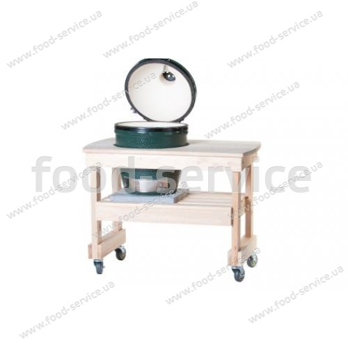 Деревянный компактный стол Y3TABC4 для грилей Big Green Egg Medium