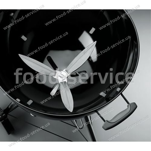 Гриль угольный портативный Weber One-Touch Original 47 см с термометром