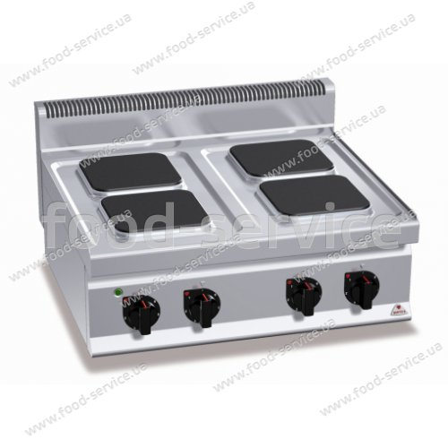 Плита электрическая 4-х конфорочная Bertos E7PQ4B