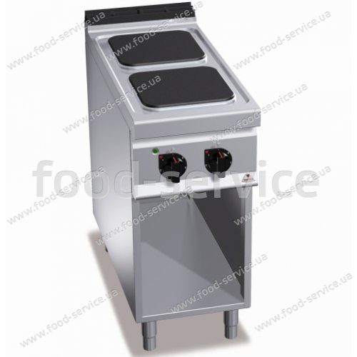 Плита эл. 2-х конфорочная Bertos E9PQ2M