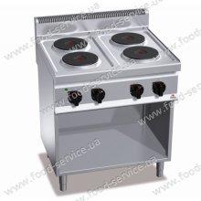 Плита эл. 4-х конфорочная Bertos E7P4M+2P400
