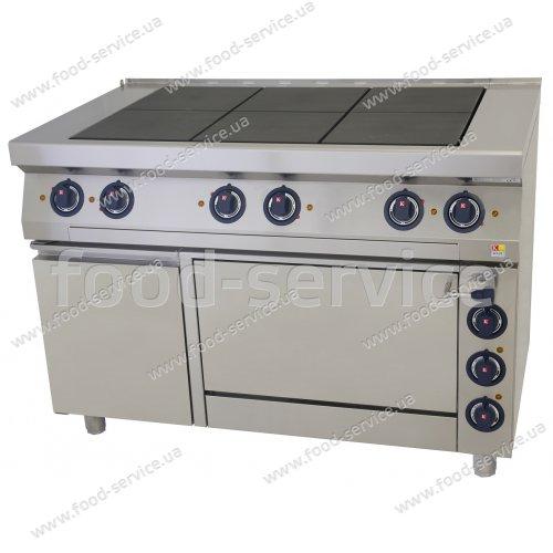 Плита 6-ти конфорочная с духовкой Kogast EST67/1-O