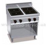 Плита индукционная 4-х конфорочная без духовки GGM EDB879P