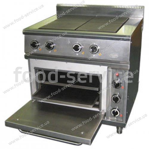 Электрические плиты. Плита 6-х конфорочная с духовым шкафом ЭСЧШ