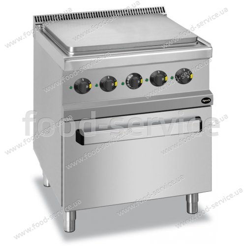 Плита электрическая 4-х зонная с духовым шкафом Apach APRES-77FE