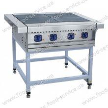 Плита электрическая 4-х конфорочная без духовки ЭП-4П