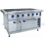 Плита электрическая 6-конфорочная с жарочным шкафом ЭП-6ЖШ-Э