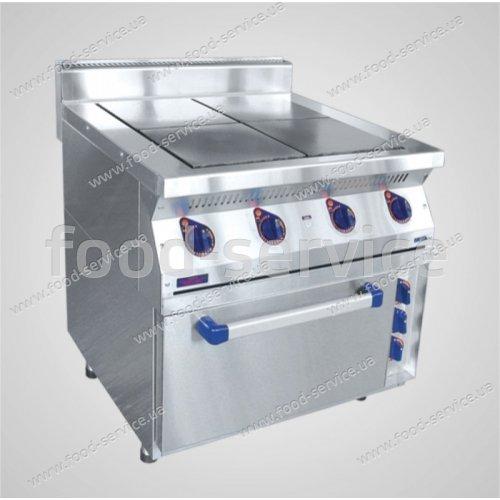 Плита электрическая 4-х конфорочная с жарочным шкафом ЭПК-47ЖШ (краш.)