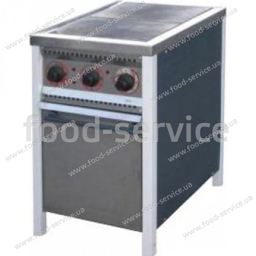 Плита 2-х конфорочная с духовым шкафом ПЕ-2Ш