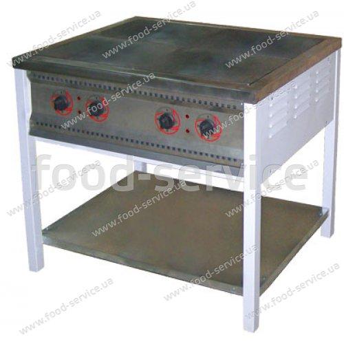 Плита 4-х конфорочная без духового шкафа ПЕ-4 Н Эконом