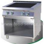 Плита 4-х конфорочная без духового шкафа RM Gastro SPL- 780 E