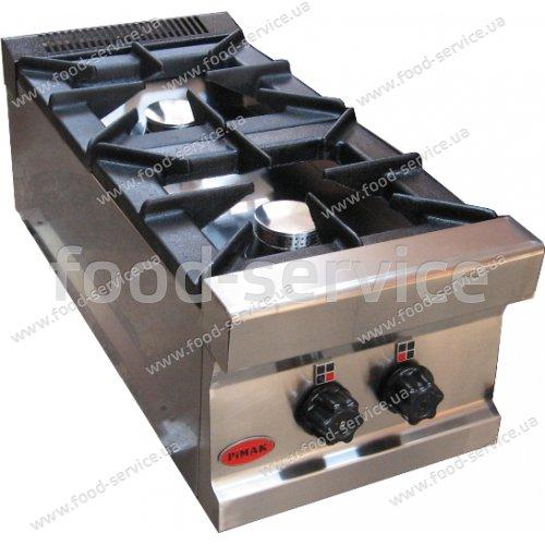 Плита газовая 2 конфорочная настольная PIMAK М 022 new