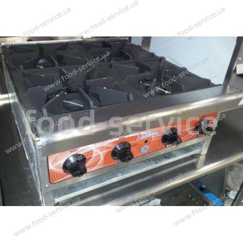 Плита газовая 4 конфорочная настольная ТSHP-4-24C, Tri-star