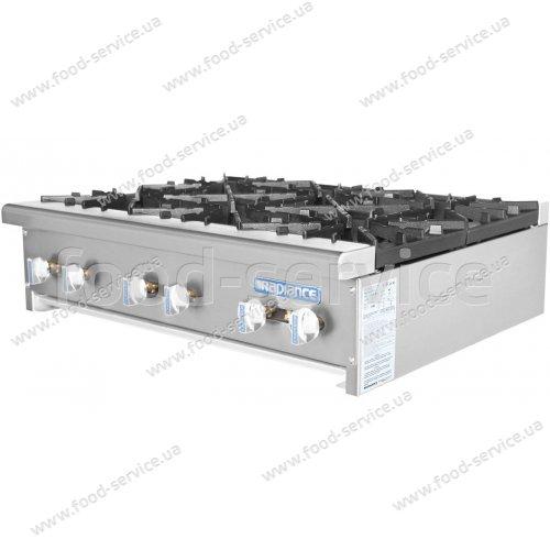 Плита газовая 6 конф. настольная TurboAir Radiance TAHP-36-6