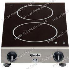 Индукционная плита двухсекционная  настольная Bartscher A105970