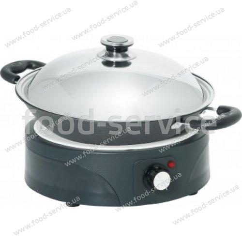 Плита индукционная WOK HENDI 239728 + сковородка